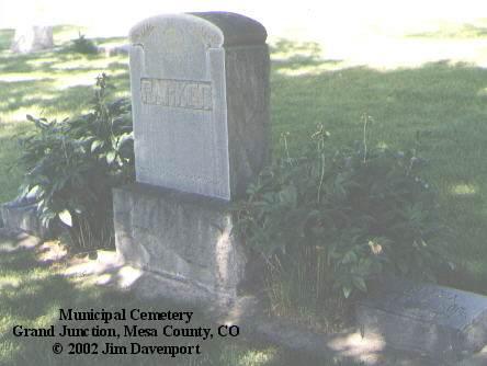 PARKER, SELMA - Mesa County, Colorado | SELMA PARKER - Colorado Gravestone Photos