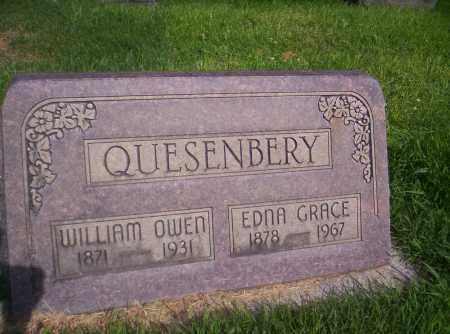 QUESENBERY, EDNA GRACE - Mesa County, Colorado   EDNA GRACE QUESENBERY - Colorado Gravestone Photos