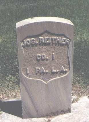REITHER, JOS. - Mesa County, Colorado | JOS. REITHER - Colorado Gravestone Photos
