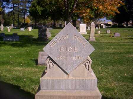RICE, WILLIAM ORMEL - Mesa County, Colorado   WILLIAM ORMEL RICE - Colorado Gravestone Photos