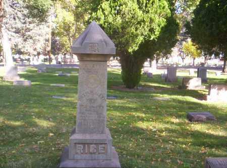 RICE, WILLIAM ALEXIS - Mesa County, Colorado | WILLIAM ALEXIS RICE - Colorado Gravestone Photos