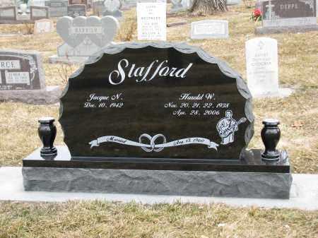 STAFFORD, HAROLD - Mesa County, Colorado | HAROLD STAFFORD - Colorado Gravestone Photos