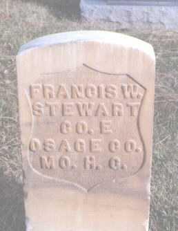 STEWART, FRANCIS W. - Mesa County, Colorado | FRANCIS W. STEWART - Colorado Gravestone Photos