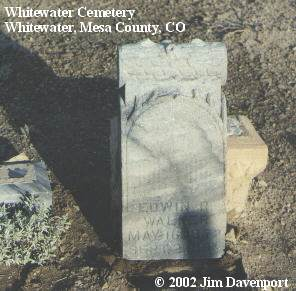 WALKER, EDWIN R. - Mesa County, Colorado | EDWIN R. WALKER - Colorado Gravestone Photos