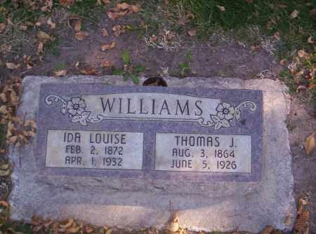 WILLIAMS, IDELLA LOUISE - Mesa County, Colorado   IDELLA LOUISE WILLIAMS - Colorado Gravestone Photos