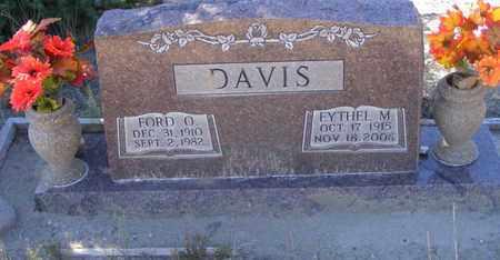 DAVIS, FORD - Mineral County, Colorado | FORD DAVIS - Colorado Gravestone Photos