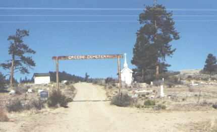 GATE, CEMETERY - Mineral County, Colorado | CEMETERY GATE - Colorado Gravestone Photos