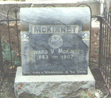 MCKINNEY, HOWARD V. - Mineral County, Colorado | HOWARD V. MCKINNEY - Colorado Gravestone Photos