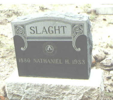 SLAGHT, NATHANIEL H. - Mineral County, Colorado | NATHANIEL H. SLAGHT - Colorado Gravestone Photos
