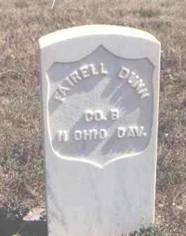 DUNN, FAIRELL - Moffat County, Colorado | FAIRELL DUNN - Colorado Gravestone Photos