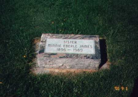 JAMES, MINNIE - Moffat County, Colorado | MINNIE JAMES - Colorado Gravestone Photos