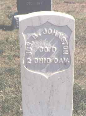 JOHNSTON, JOS. B. - Moffat County, Colorado | JOS. B. JOHNSTON - Colorado Gravestone Photos