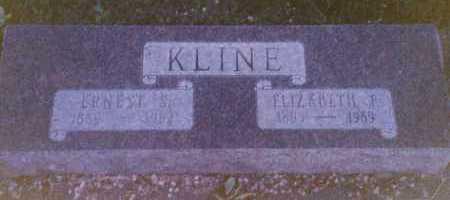 HEROD KLINE, ELIZABETH F - Moffat County, Colorado | ELIZABETH F HEROD KLINE - Colorado Gravestone Photos
