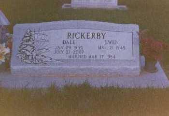 RICKERBY, DALE - Moffat County, Colorado   DALE RICKERBY - Colorado Gravestone Photos