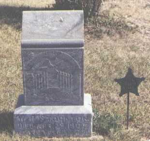 STOCKTON, W. P. - Moffat County, Colorado | W. P. STOCKTON - Colorado Gravestone Photos