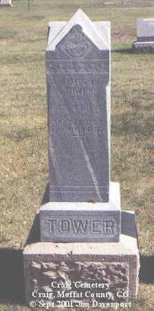TOWER, JAMES L. - Moffat County, Colorado | JAMES L. TOWER - Colorado Gravestone Photos