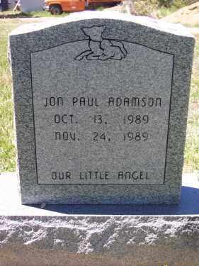 ADAMSON, JON PAUL - Montezuma County, Colorado | JON PAUL ADAMSON - Colorado Gravestone Photos