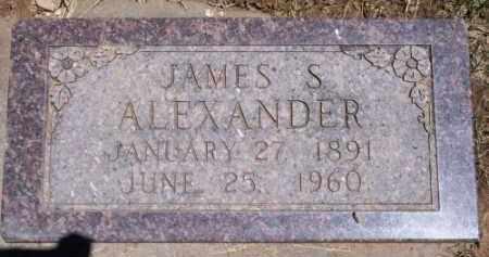ALEXANDER, JAMES S. - Montezuma County, Colorado   JAMES S. ALEXANDER - Colorado Gravestone Photos