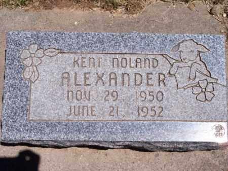 ALEXANDER, KENT NOLAND - Montezuma County, Colorado   KENT NOLAND ALEXANDER - Colorado Gravestone Photos