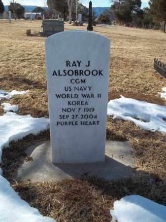 ALSOBROOK, RAY J. - Montezuma County, Colorado | RAY J. ALSOBROOK - Colorado Gravestone Photos