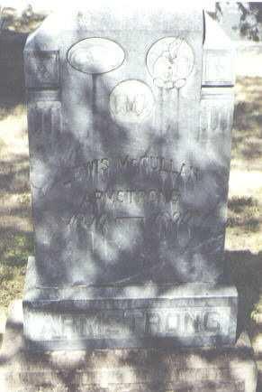 ARMSTRONG, LEWIS MCCULLAN - Montezuma County, Colorado   LEWIS MCCULLAN ARMSTRONG - Colorado Gravestone Photos