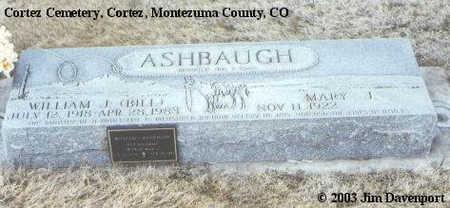 ASHBAUGH, MARY I. - Montezuma County, Colorado | MARY I. ASHBAUGH - Colorado Gravestone Photos
