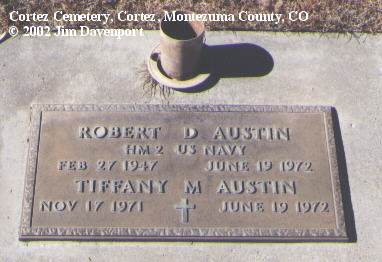 AUSTIN, ROBERT D. - Montezuma County, Colorado | ROBERT D. AUSTIN - Colorado Gravestone Photos