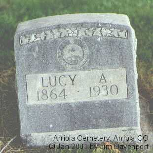 BAILEY, LUCY A. - Montezuma County, Colorado | LUCY A. BAILEY - Colorado Gravestone Photos