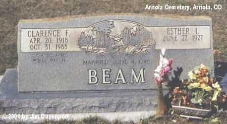 BEAM, ESTHER L. - Montezuma County, Colorado | ESTHER L. BEAM - Colorado Gravestone Photos