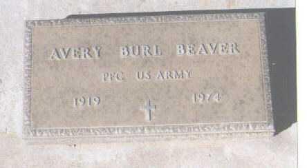BEAVER, AVERY BURL - Montezuma County, Colorado | AVERY BURL BEAVER - Colorado Gravestone Photos
