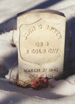 BOWEN, JOHN C. - Montezuma County, Colorado   JOHN C. BOWEN - Colorado Gravestone Photos