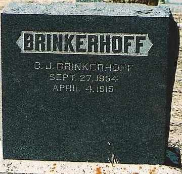 BRINKERHOFF, C. J. - Montezuma County, Colorado | C. J. BRINKERHOFF - Colorado Gravestone Photos