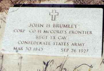 BRUMLEY, JOHN H. - Montezuma County, Colorado | JOHN H. BRUMLEY - Colorado Gravestone Photos