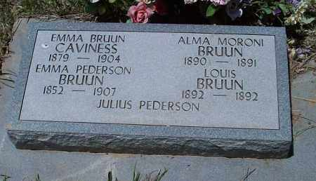 BRUUS, ALMA - Montezuma County, Colorado | ALMA BRUUS - Colorado Gravestone Photos