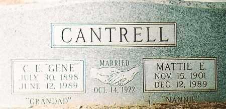 CANTRELL, MATTIE E. - Montezuma County, Colorado | MATTIE E. CANTRELL - Colorado Gravestone Photos