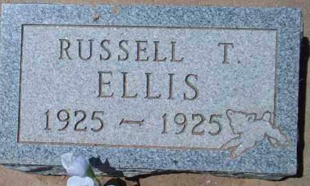 ELLIS, RUSSELL THOMAS - Montezuma County, Colorado | RUSSELL THOMAS ELLIS - Colorado Gravestone Photos