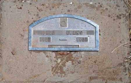 EVANS, PAUL - Montezuma County, Colorado | PAUL EVANS - Colorado Gravestone Photos