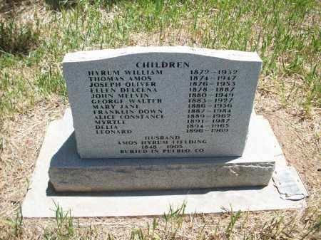 FIELDING, THOMAS AMOS - Montezuma County, Colorado | THOMAS AMOS FIELDING - Colorado Gravestone Photos