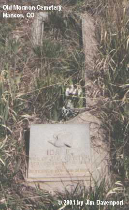 GAWITH, IDA E. - Montezuma County, Colorado | IDA E. GAWITH - Colorado Gravestone Photos