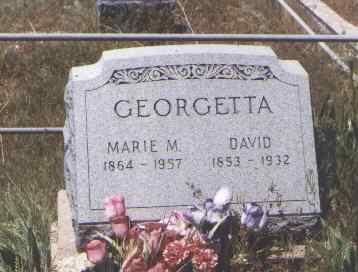 GEORGETTA, DAVID - Montezuma County, Colorado   DAVID GEORGETTA - Colorado Gravestone Photos