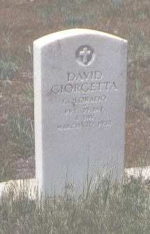 GIORGETTA, DAVID - Montezuma County, Colorado | DAVID GIORGETTA - Colorado Gravestone Photos