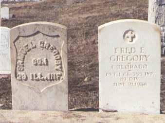 GREGORY, FRED E. - Montezuma County, Colorado | FRED E. GREGORY - Colorado Gravestone Photos