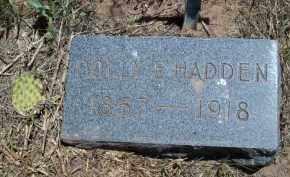 HADDEN, POLLY E - Montezuma County, Colorado | POLLY E HADDEN - Colorado Gravestone Photos