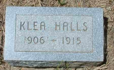 HALLS, KLEA - Montezuma County, Colorado | KLEA HALLS - Colorado Gravestone Photos
