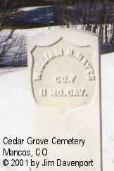 HAYES, WILLIAM H. - Montezuma County, Colorado | WILLIAM H. HAYES - Colorado Gravestone Photos