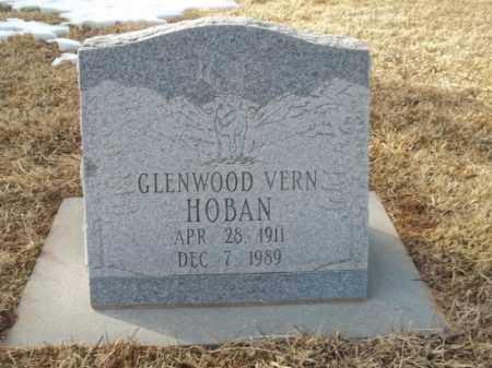 HOBAN, GLENWOOD VERN - Montezuma County, Colorado   GLENWOOD VERN HOBAN - Colorado Gravestone Photos