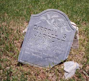 JARRETT, CARROLL S. - Montezuma County, Colorado | CARROLL S. JARRETT - Colorado Gravestone Photos