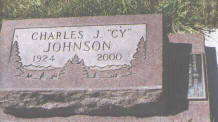 "JOHNSON, CHARLES J. ""CY"" - Montezuma County, Colorado | CHARLES J. ""CY"" JOHNSON - Colorado Gravestone Photos"