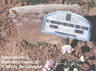 LANCASTER, BABY - Montezuma County, Colorado | BABY LANCASTER - Colorado Gravestone Photos