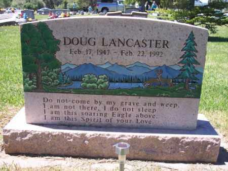LANCASTER, DOUG - Montezuma County, Colorado   DOUG LANCASTER - Colorado Gravestone Photos